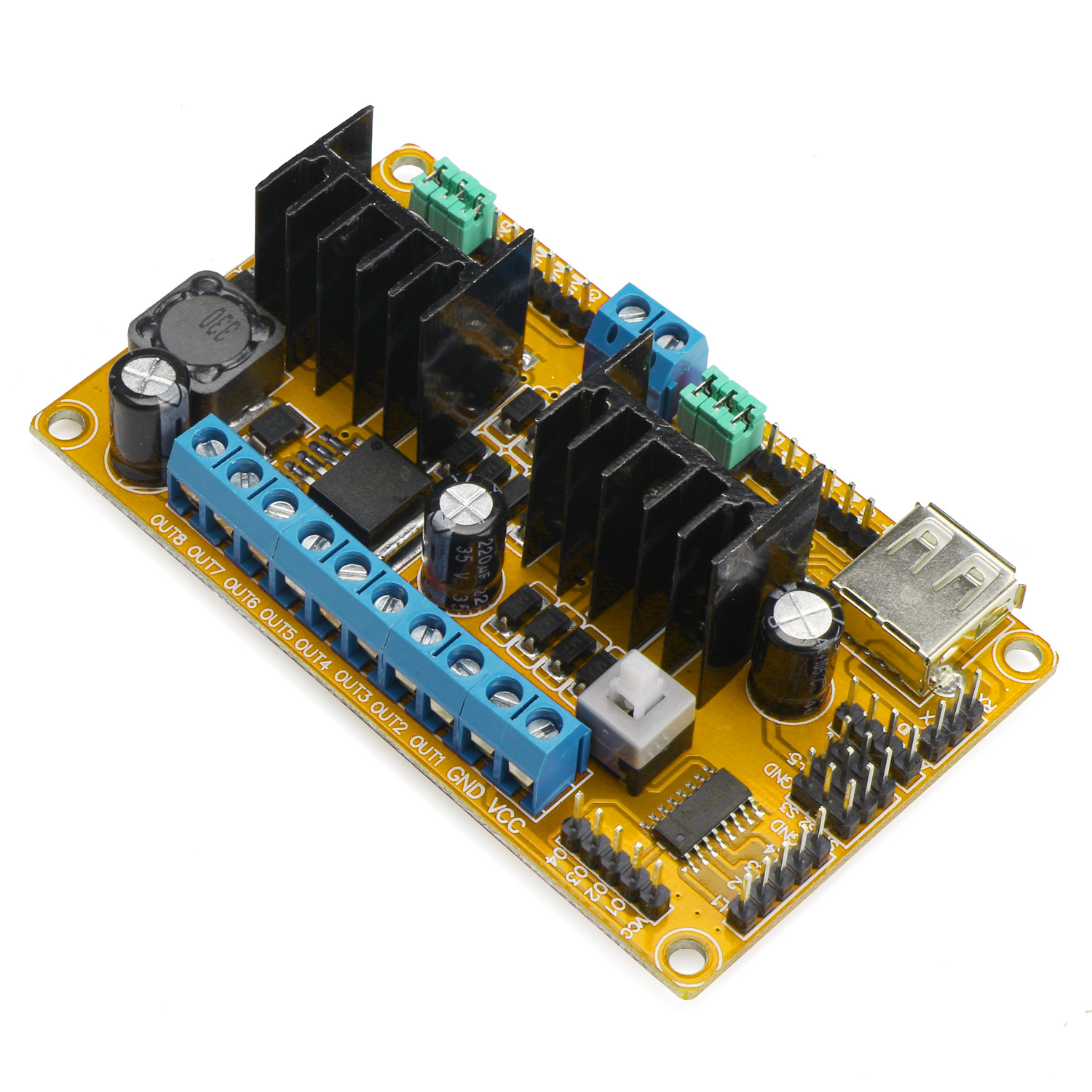 L298n Dc Stepper Motor Drive Controller Board Module Four Motors And Used As Actuators Integrated For Arduino Wifi