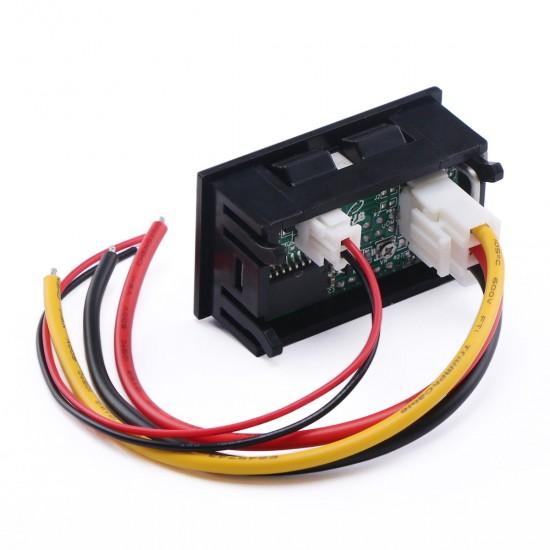 X-DREE DC 0-200V 10A high performance Blue Red LED essential Dual Digital Panel well made Voltmeter Ammeter Meter bdf-7f-b0-cd5