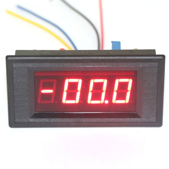 0 ~200uA DC Micro Amp Current Meter Digital Ampere Tester Red Led Display Panel Meter DC 5V Digital Ammeter