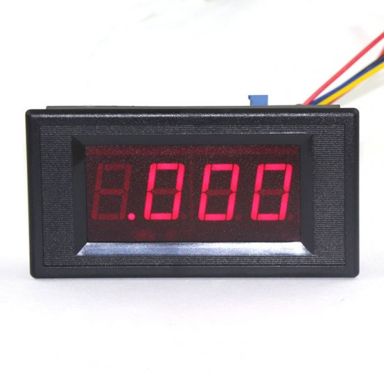 Digital Tester 0 ~ 2mA Milliamp Panel Meter/Amp Gauges Red Led Display Milliamperemeter/Current Meter DC 5V Digital Ammeter