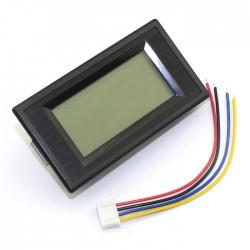 Digital Meter 0 ~ 20K Ohm Panel Meter Blue LCD Display Digital Ohmmeter AC/DC8 ~12V Resistance Tester/Monitor