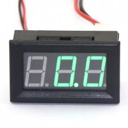 0-50A Red/Blue/Green LED Amperemeter DC Two Wires Digital Ampere Meter High Brightness Digital Ammeter