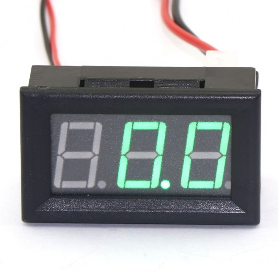 0-50A Red/Blue/Green LED Amperemeter DC Two Wires Digital Ampere Meter High Brightness Digital Ammeter
