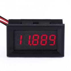 Mini Voltmeter DC 0~4.3000V~33.000V Red Led Digital Voltage Meter DC 12V 24V Voltage Tester/Volt Panel Meter