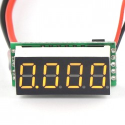 """0.36"""" DC 0~10A Red/Yellow/Blue/Green LED Digital Ammeter Four wires Current Measure Meter Built-in Shunt DC 7-30V Power Supply"""
