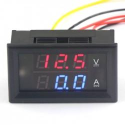 YB27VA 2in1 Voltage Current Test Meter 0.28