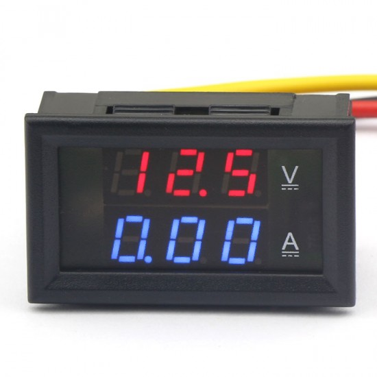 2in1 DC 4.5-30V/10A Digital Volt Amp Meter LED Display Ammeter/Voltmeter