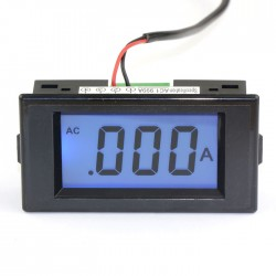Blue LCD Ampere Panel Meter AC 0-1.999A Digital Ammeter Four wires Current Measure Meter