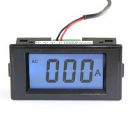 Mini Amperemeter AC 0-600A Blue LCD Digital Ammeter for substation/factory and DIY ect