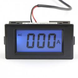 AC/DC8-12V Current Measure Meter AC 0-1000A Blue LCD Digital Ammeter Four wires Ampere Panel Meter