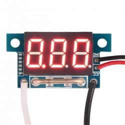 DC 0-10A Auto Car Current Monitor Gauges 4V-30V Powered Red LED Digital Display Ampere Ammeter
