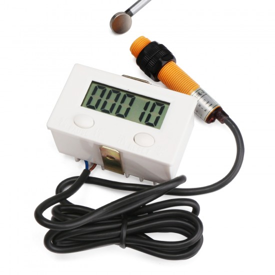 Digital Counter 0~99999 Accumulate Accumulating Counter electronic Counter punch punch magnetic induction proximity switch reciprocating rotary counter