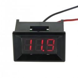0.36''Digital 3 Bit Voltage Meter DC 3.2 - 30.0V Voltmeter Red LED Display two-wire