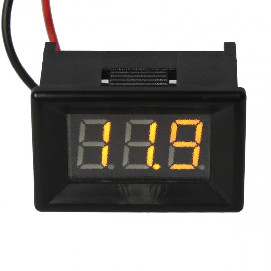 0.36''Digital 3 Bit Voltage Meter DC 3.2 - 30.0V Voltmeter Yellow LED Display two-wire