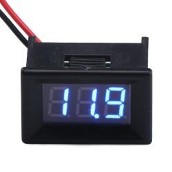 0.36''Digital Voltmeter 3 Bit Voltage Meter DC 3.2 - 30.0V Blue LED Display