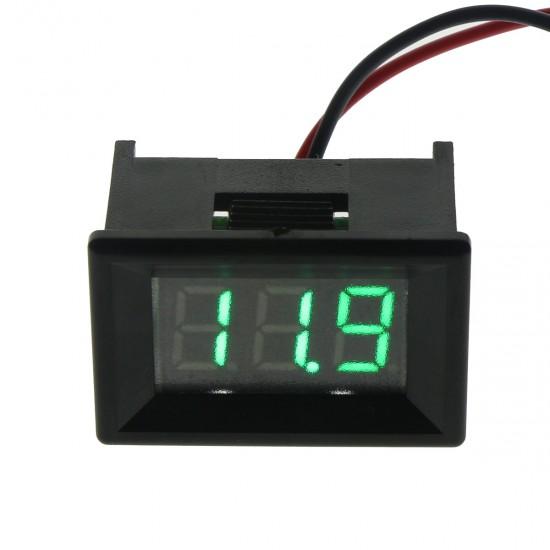 0.36''Digital 3 Bit Voltage Meter DC 3.2 - 30.0V Voltmeter Green LED Display