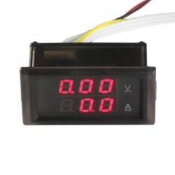 Digital Voltmeter Current Meter 100V /100A Voltmeter Gauge DC Current Meter LED Display Auto/Car/Eletronic Voltage Meter with Transformer