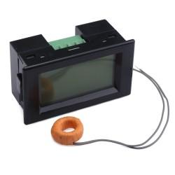 AC 0~50A Current Monitor LCD Display Digital Ammeter AC80~500V Current Tester AC 110V/220V Ampere meter + Current Transformer