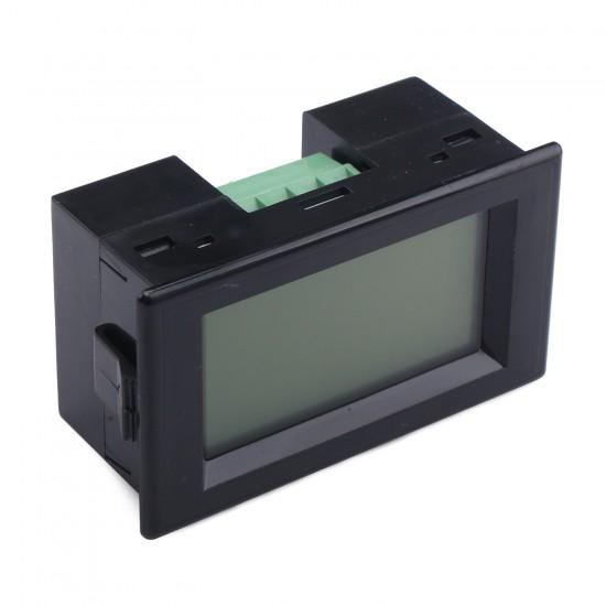 AC Ammeter AC 0~200A Digital Current meter AC80~500V Current Tester AC 110V/220V Current Monitor + Current Transformer