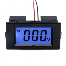 AC 0~600V Digital Voltmeter Lcd Display Voltage Monitor AC 220V Voltage Meter/Volt Tester