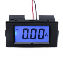 AC 0.1~20A LCD Display Digital Ammeter AC80~500V Ampere meter AC 110V/220V Current meter Monitor/Tester