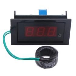 AC 100A Digital Ammeter Led Display Current Monitor Meter AC/DC 8~12V Ampere meter/Current Tester + Current Transformer