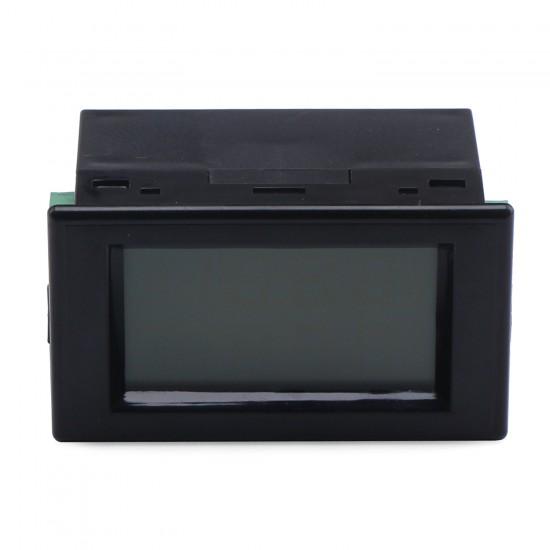2in1 Voltmeter Ammeter DC 0~19.99V/50A Lcd Dual Display Volt Meter Ampere meter DC 12V Digital Voltage Current Meter