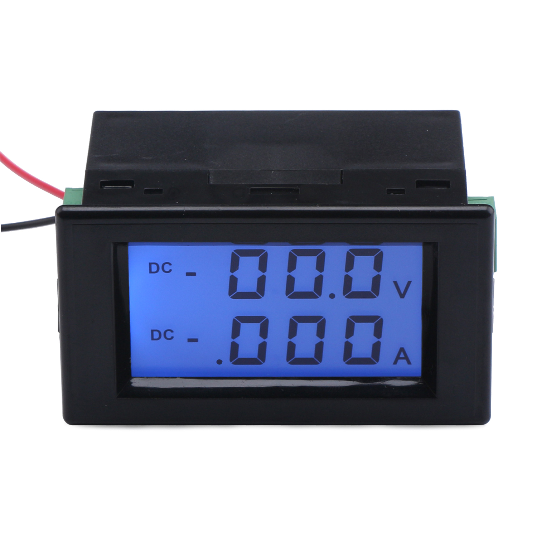 Dc 0 200v2a Voltmeter Ammeter 2in1 Digital Voltage Current