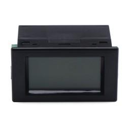 DC 0~600V/10A Volt Meter Ampere Meter 2in1 Voltage Current Monitor DC 110V/220V/380V/10A Digital Voltmeter Ammeter