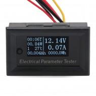 Multifunction Tester DC 12V 24V Ampere/Voltage/Capacity/Power/Energy/Run Time/Thermometer 7in1 OLED Digital Meter/Multimeter