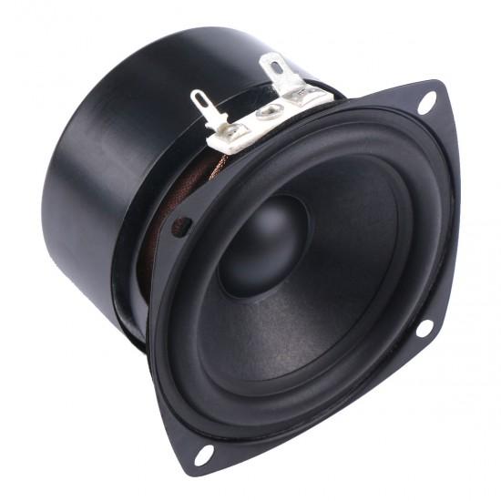 DROK: 15W Mini 3'' HiFi Full Range Speaker 4 Ohm Anti-magnetic Audio 2.0/2.1 Home Stereo Woofer Loudspeaker 90dB High Sensitivity for DIY Boombox Satellites Speaker