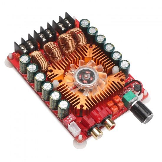 TDA7498E Digital Amplifier Board 2X160W Dual Channel Hifi Stereo Amplifier Board BTL220W mono Audio Amplifier Module