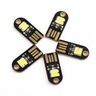 5 PCS/LOT Micro Keychain Nightlight Energy-Saving Lamp USB White Led Night Light for Laptop/PC/Home Decoration Camping Light etc