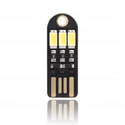 5 PCS/LOT Led Night Light Portable Energy-Saving Lamp Pocket Card Nightlight for Laptop/PC/Home Decoration Camping Lights Gifts etc