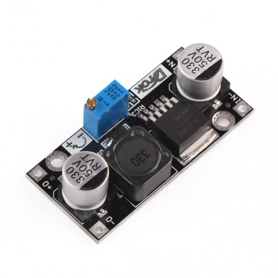 5pcs/lot Power Adapter DC 4.5~40V to 1.25~37V Buck Converter Adjustable Voltage Regulator/Driver Module DC 12V 24V Car Power Supply