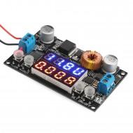 DC 5~32V to 0~30.0V 5A 30W Adjustable Power Supply Module/Voltage Regulator/Power Adapter/DC 12V 24V Driver Module + Voltage Current Monitor