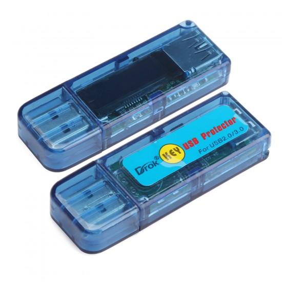 Portable USB Doctor USB Voltmeter/Ammeter/Capacity Meter/Energy Meter/Temperature Meter/Running Time Tester 6in1 Multifunction Digital Meter