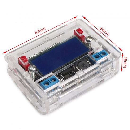 Power Supply Module DC 5~23V to 0~16.5V 3A Buck Converter Adjustable Voltage Regulator/Adapter/Charger + Dual Display Digital Meter
