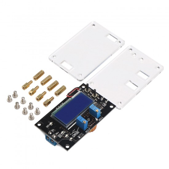 Adjustable DC Buck Module 75W Power Supply Module USB Charger DC 6~32V to 1.25~32V 5A Step-down Converter Voltage Regulator with Dual Display
