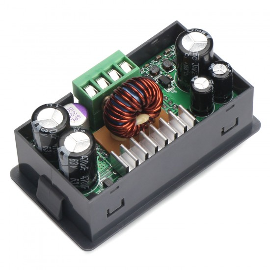 250W Digital Controller Buck Adjustable Voltage Regulator DC 6~55V to 0~50V 5A Power Supply Module/Adapter + Digital Meter