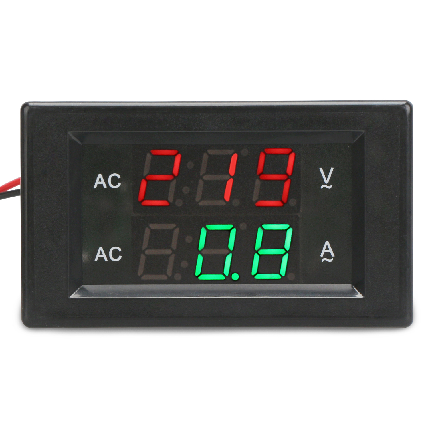Current Meters The Best Ac Ammeter 50a Include Transformer 50a Ac Current Meter Led Display Red Blue With A Cover Ac Ampere Panel Meter Ac Amperemetre High Quality Materials