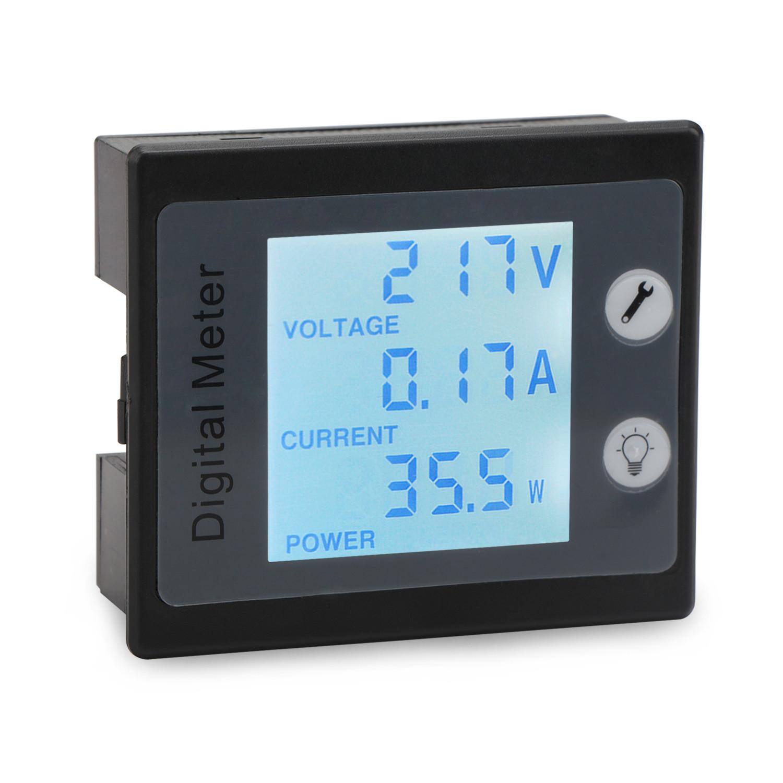 AC 80~260V/10A Digital Tester 4in1 Voltage/Current/Active power ...