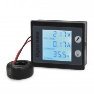 Multifunction Digital Meter 4in1 Voltmeter/Ammeter/Power Meter/Energy Meter AC 80~260V/100A Digital Tester/Multimeter