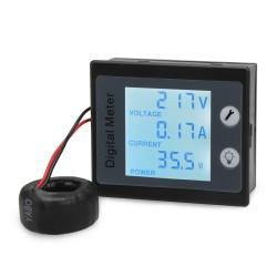 Multifunction Digital Meter 4in1 Voltmeter/Ammeter/Power Meter/Energy Meter AC 80~260V/100A Digital Tester/Multimeter
