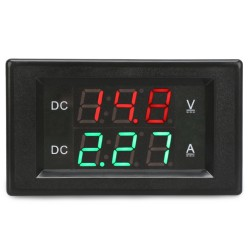 Digital Tester DC 4.5~100V/20A Led Display Voltmeter Ammeter DC 12V 24V Voltage/Current Meter 2in1 Volt Amp Panel Meter
