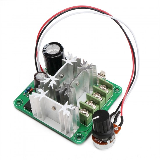 720W Stepless Speed Control Module DC 6V~90V 8A PWM Controller/Voltage Regulator DC Motor Speed Controller Support PLC Control