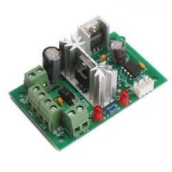 DC 6V~30V 6A 180W PWM HHO Motor Speed Controller Adjustable Reversing Switch Support PLC Control DC Positive Inversion Controller