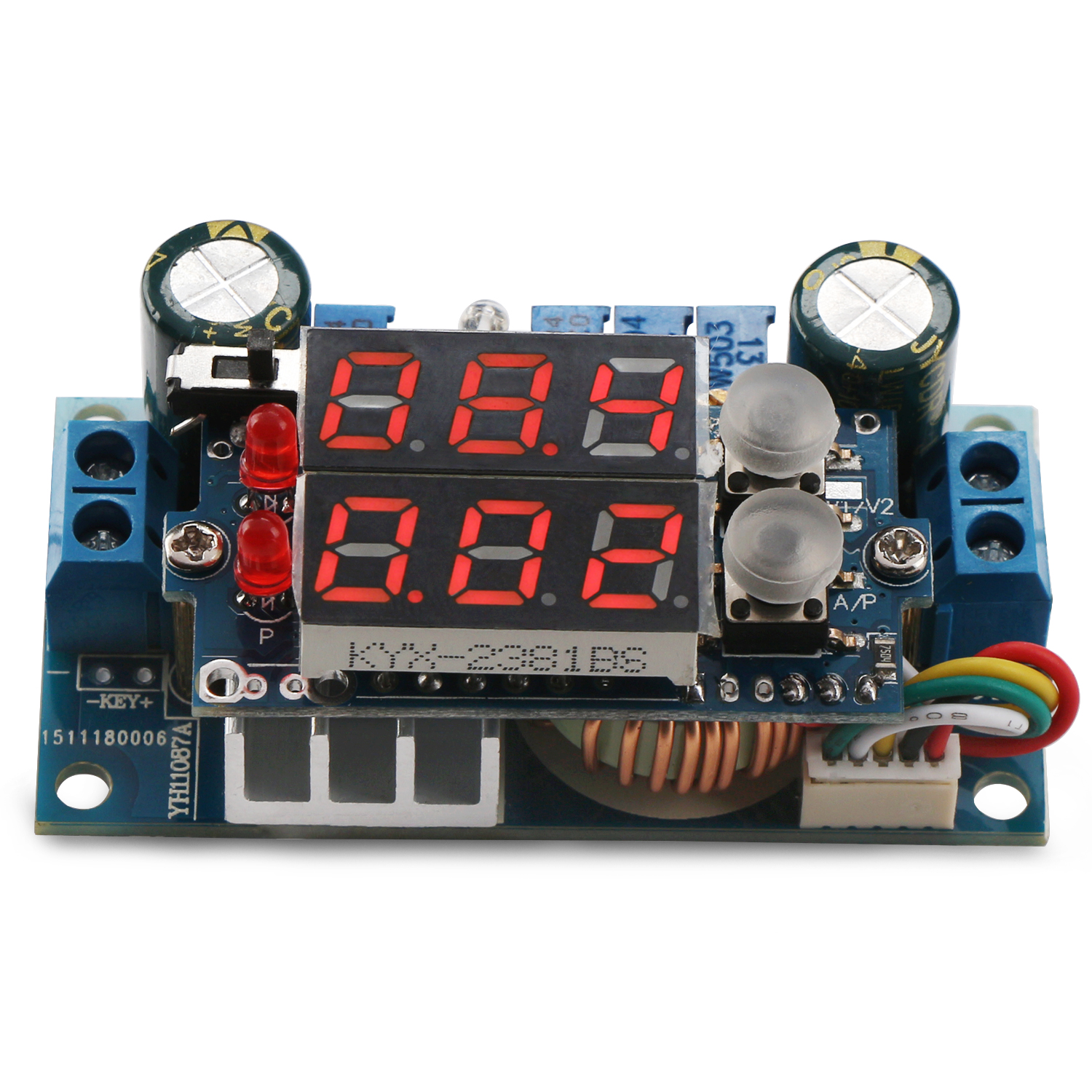 4in1 Adjustable Power Supply Module Dc 636v To 12532v 5a Digital Cc Semiconductors And Electronics In An Easy Understand
