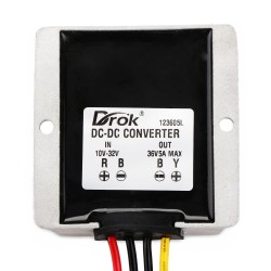 180W Power Supply Module DC 10~32V to 36V 5A Boost Converter/Voltage Regulator/Adapter/Driver Module for Car/Large trucks/Taxi/Bus etc