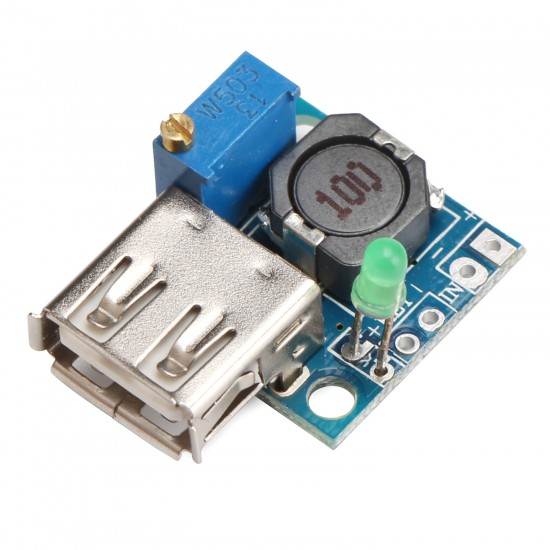 DIY USB Charger DC 4.75~22V to 1~20V 3A Adjustable USB Power Supply Module USB Charging Board for mobile Phone/Laptop/Tablet PC/MP3